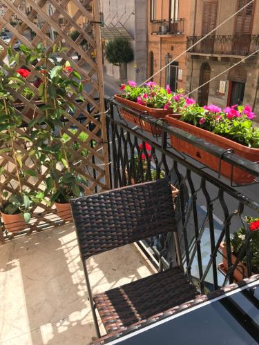 A balcony or terrace at Verdi Apartment