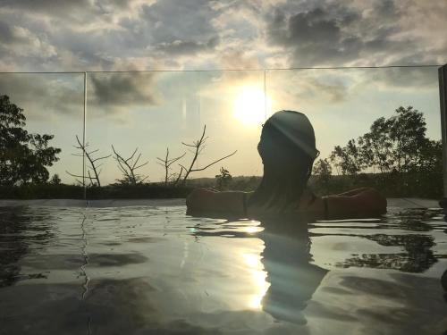 Бассейн в Villa Omah Bali или поблизости