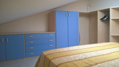 A bed or beds in a room at Flat358