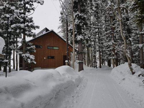 Fuku Chalet during the winter