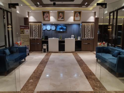 The lobby or reception area at Mera Houses