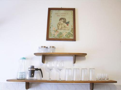 Kuhinja oz. manjša kuhinja v nastanitvi Harmony Gallery