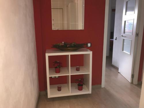 A kitchen or kitchenette at Cosmollar Vila Olímpica