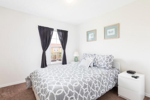 Un ou plusieurs lits dans un hébergement de l'établissement Comfortable Vacation Townhouse LB0967
