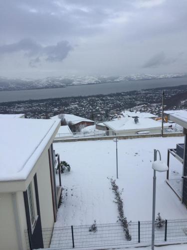 Metehan Suite during the winter