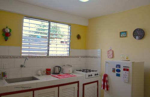 Dapur atau dapur kecil di Valia Vacation Apartment