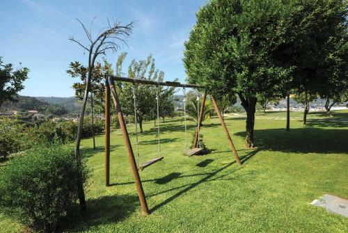 Children's play area at Agrelo Villa Sleeps 6 Air Con WiFi