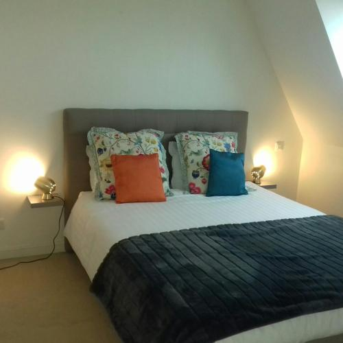 Un ou plusieurs lits dans un hébergement de l'établissement Villa Louise