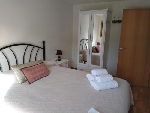 Katil atau katil-katil dalam bilik di Casa Irati