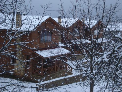 Feggarognemata Suites during the winter
