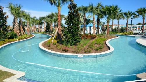 Vue sur la piscine de l'établissement EV264007 - Windsor At Westside Resort - 5 Bed 5 Baths Villa ou sur une piscine à proximité