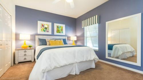 Un ou plusieurs lits dans un hébergement de l'établissement EV270677 - Bella Vida Resort - 4 Bed 3 Baths Townhouse
