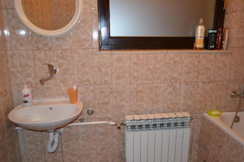 Kopalnica v nastanitvi Apartments Bobito