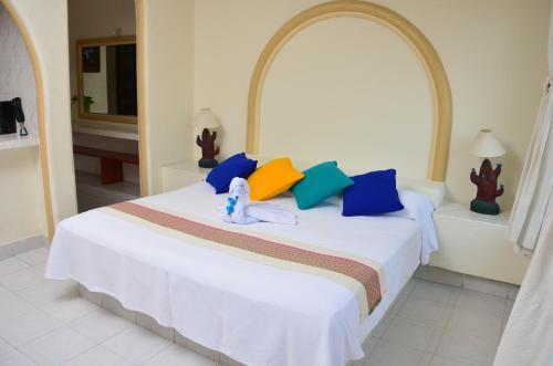 Cama o camas de una habitación en Arena Suites