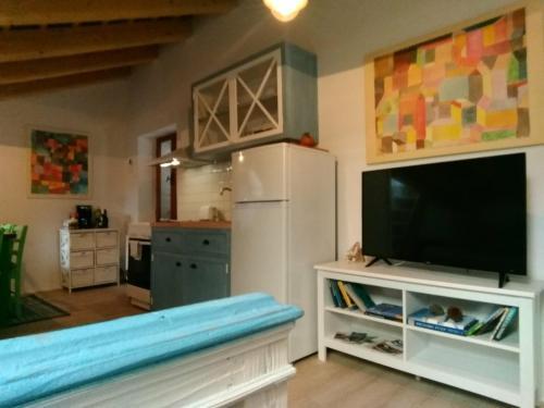 TV/Unterhaltungsangebot in der Unterkunft Apartments Jago