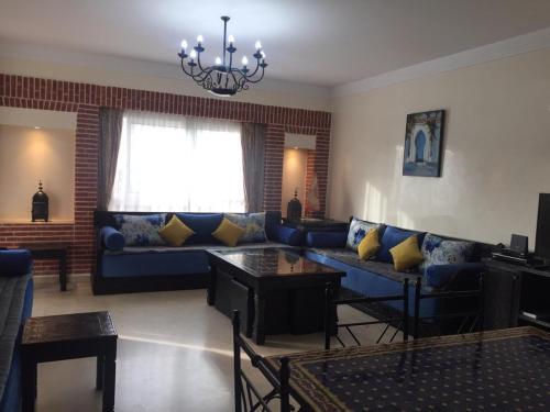 A seating area at Marina Apartment Agadir