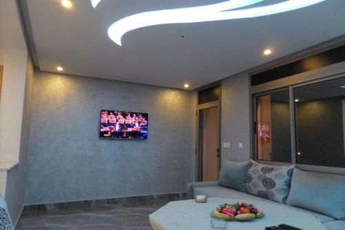 A television and/or entertainment center at Studio deluxe in Agadir
