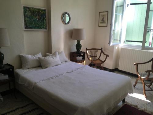 Un ou plusieurs lits dans un hébergement de l'établissement Les Mahistres