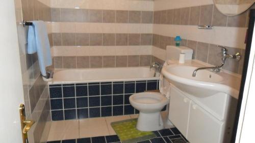 A bathroom at Studio in Rovinj/Istrien 11716