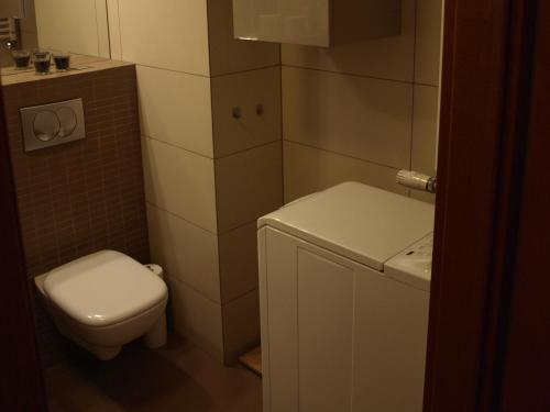 A bathroom at Apartament przy parku