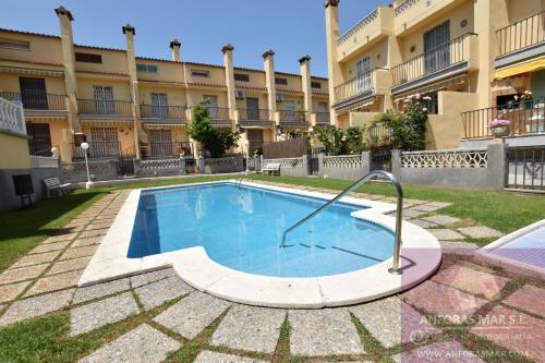 The swimming pool at or near Llaveria