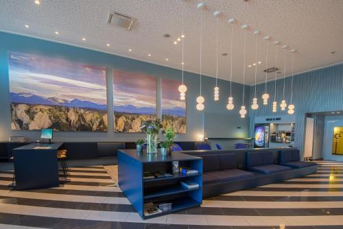 Lobby/Rezeption in der Unterkunft Stay2Munich Hotel & Serviced Apartments