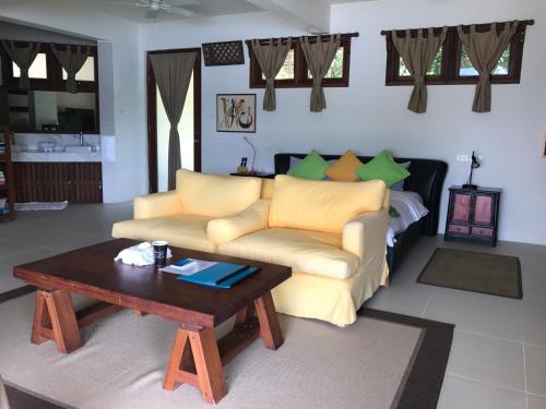 A seating area at Ekhaya Busuanga Island Palawan
