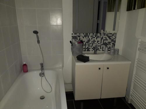 Kupaonica u objektu Au bol d'air