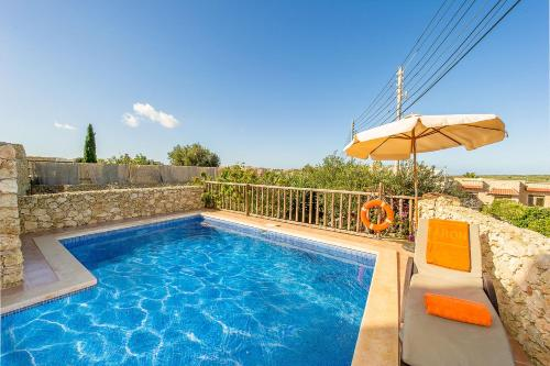 The swimming pool at or near Ta Kristoff Holiday Home