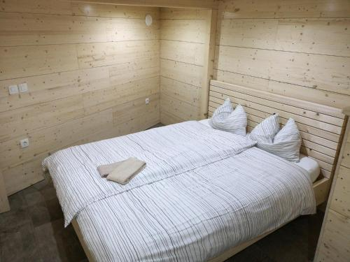 Postelja oz. postelje v sobi nastanitve Koča Ojstrica - Velika planina