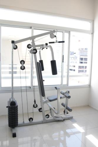 The fitness center and/or fitness facilities at Apartment Cerviño Buenos Aires