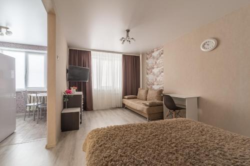 Гостиная зона в Apartament on Tereshkovoy 38