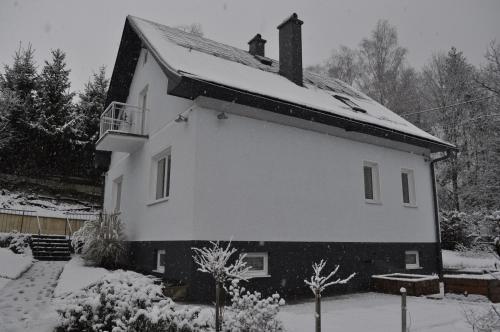 Apartmány CENTRUM v zime
