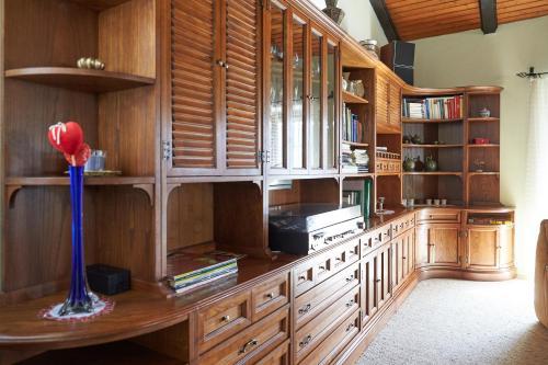 Küche/Küchenzeile in der Unterkunft Semmering Villa Sonnenschein