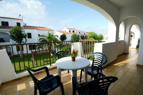 Un balcón o terraza de Siesta Mar Apartamentos
