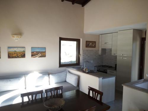 Kuhinja oz. manjša kuhinja v nastanitvi Il ritorno