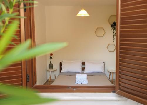 Χώρος καθιστικού στο Villa Maraki