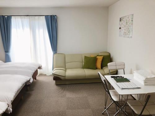Posezení v ubytování Stay inn Kyoto Shijo Omiya