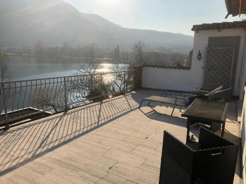A balcony or terrace at Sans Souci Villa