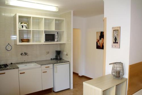 Een keuken of kitchenette bij Apartaments Margarita Sabina Pinell