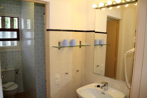 Een badkamer bij Apartaments Margarita Sabina Pinell