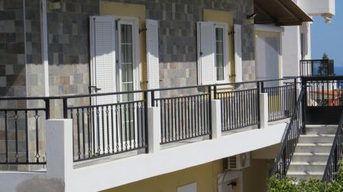 A balcony or terrace at Medusa Villa