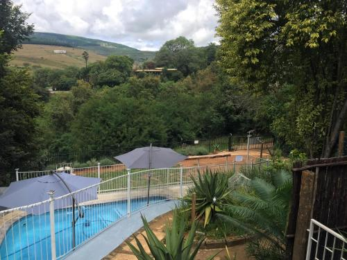 A view of the pool at Sabie Self Catering Apartments or nearby