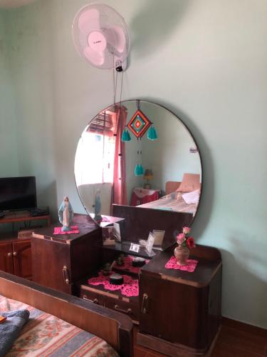 A television and/or entertainment center at Las Abuelas