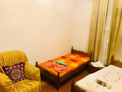 A bed or beds in a room at Dovana apartment