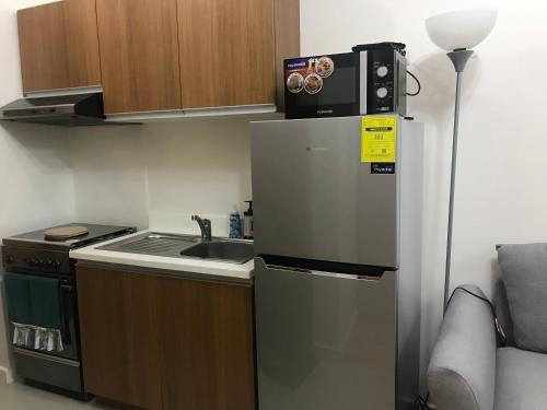 A kitchen or kitchenette at 8 Adriatico Branson's Condotel