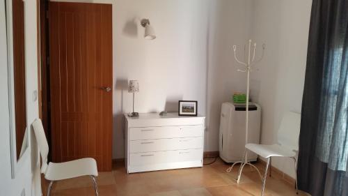 A bathroom at Piso moderno en Enix. Calle Roquetas de Mar n. 12 piso 5 F