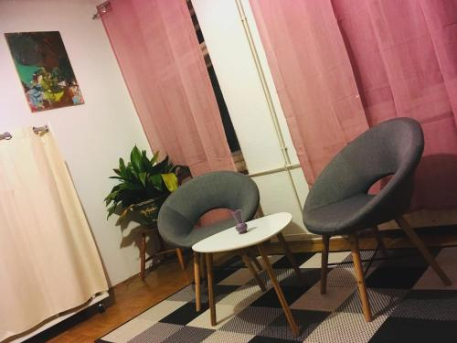 Predel za sedenje v nastanitvi Simple life in Vila Kristina