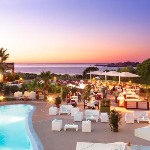 A view of the pool at Hotel Marinedda Thalasso & Spa or nearby