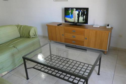 A television and/or entertainment center at San Marino apartment